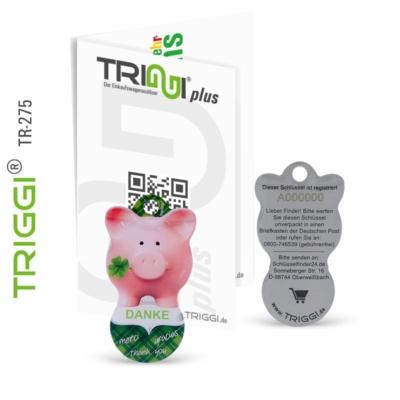 Einkaufswagenauslöser TRIGGI TR-275 mit Schlüsselfinder