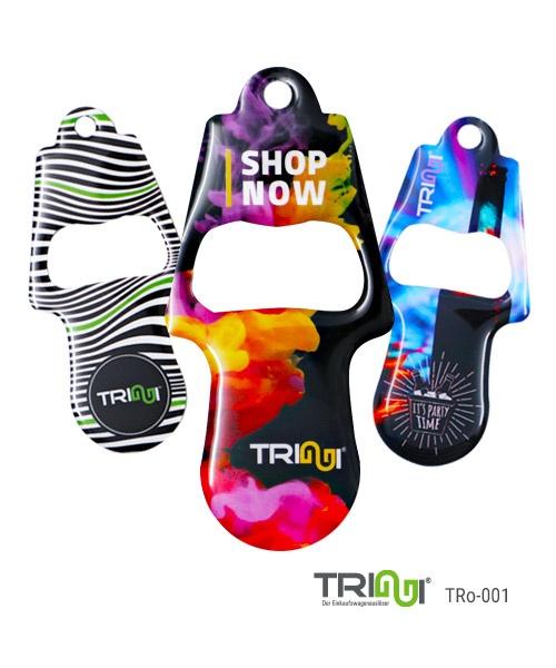 Einkaufswagenauslöser TRIGGI® TRo-001 mit innenliegendem Flaschenöffner
