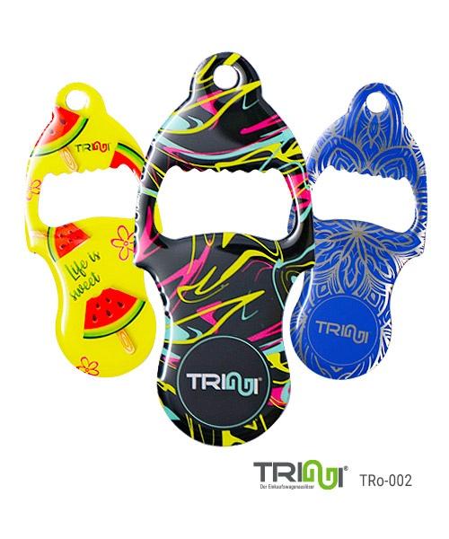 Einkaufswagenauslöser TRIGGI® TRo-002 mit innenliegendem Flaschenöffner