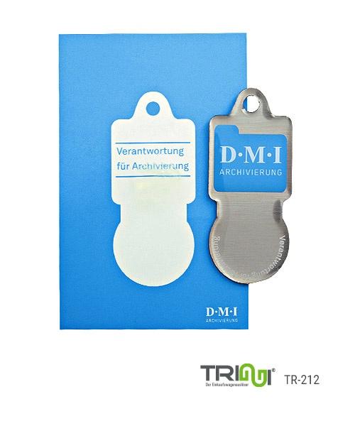 Einkaufswagenlöser aus Metall bedrucken mit Logo - TRIGGI® TR-212