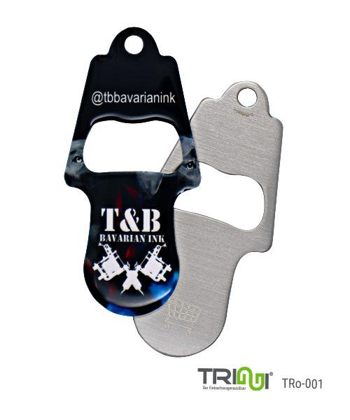Einkaufswagenlöser TRIGGI® TRo-001 - Tattoo Studio - Einkaufswagenchips bedrucken